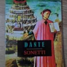 SONETE / SONETTI. EDITIE BILINGVA ITALIANA-ROMANA - DANTE ALIGHERI