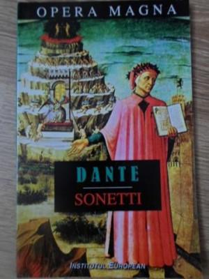 SONETE / SONETTI. EDITIE BILINGVA ITALIANA-ROMANA - DANTE ALIGHERI foto