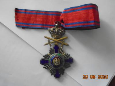 Comandor Steaua Romaniei ptr. militari la pace foto