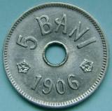 ROMANIA, 5 BANI 1906 J_aUNC-UNC * cod 125