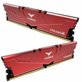 Memorie TeamGroup Vulcan Z DDR4 32GB 3000MHz CL16 1.35V XMP 2.0 Red Dual Channel Kit