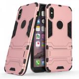 Husa hibrid g-shock pentru iphone 10 / X / XS, roz