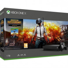 Consola Microsoft Xbox One X 1Tb + Playerunknown S Battlegrounds
