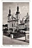 Targu Mures Marosvasarhely szekelykapu,biserica cat.cu poarta secuiasca animata