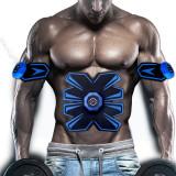Cumpara ieftin Aparat Smart Fitness reincarcabil USB electrostimulare, abdomen, brate, picioare