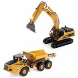 Excavator pe șenile basculant (scara 1:50, funcționare manual)