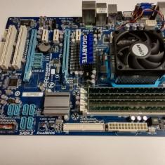 Kit socket AM3 Gigabyte GA-MA785GT-UD3H+AMD Athlon X2 220 Regor 2.8Ghz+4Gb DDR3, Pentru AMD, DDR 3