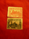 2 Timbre Spania 1936- Hunta de defensa national 15C si 30C