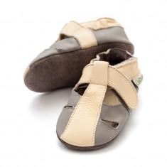 Sandale cu talpa moale Liliputi Atacama Grey