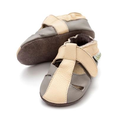 Sandale cu talpa moale Liliputi Atacama Grey foto