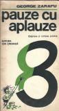 Pauza cu aplauze - George Zarafu / epigrame si catrene scolare