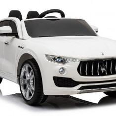 Masinuta electrica Maserati Levante 2x35W STANDARD Alb