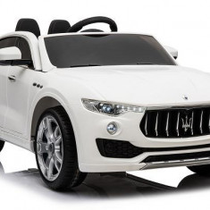 Kinderauto Maserati Levante 2x35W STANDARD Alb