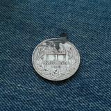 #20 1 Korona 1912 Ungaria , argint, moneda agatatoare de salba, (Corona Coroana)
