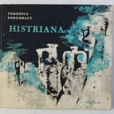 HISTRIANA - versuri de VERONICA PORUMBACU , ilustratii de MARIA CONSTANTIN , 1968