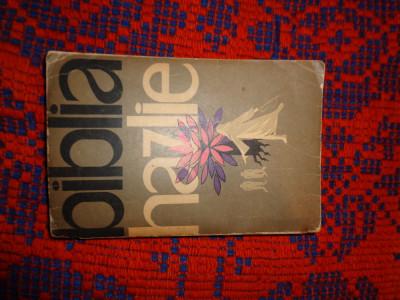 Biblia hazlie - L. Taxtil an1962,551pagini foto