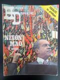 Revista veche L Humanite Dimanche 1972 Nixon Mao