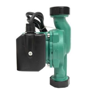 Pompa Recirculare Apa 25/6-180, JRED, Circulatie calda si rece pentru centrala termica, Verde