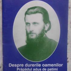 DESPRE DURERILE OAMENILOR. PRAPADUL ADUS DE PATIMI VOL.3 - DIN INVATATURILE PARI
