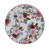 Platou ceramica design floral 26 cm