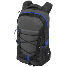 Rucsac outdoor Laptop, Everestus, MN, 15.4 inch, 600D poliester si 600D ripstop poliester, negru, gri, sac si eticheta incluse