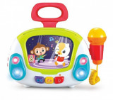 Statie Karaoke Jukebox cu microfon Hola Toys
