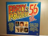 Party Power 2 – 56 Hits Non Stop – Selectii – 2 LP (1977/Teldec/RFG)  - Vinil/M-