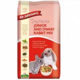 Mix pentru iepurii tineri/ pitici, Mr. Johnson`s Supreme Junior Dwarf/ Rabbit, 900 g