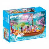 Set figurine Playmobil Fairies - Barca magica cu zane (9133)