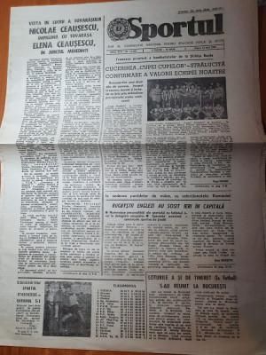 sportul 12 mai 1989-stiinta bacau a cucerit cupa cupelor la handbal feminin foto
