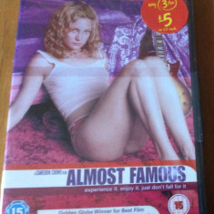 ALMOST FAMOUS  Tour 1973   DVD ORIGINAL