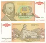 IUGOSLAVIA 5.000.000.000 dinara 1993 AUNC!!!