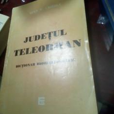 Judetul Teleorman,dicționar biobibliografic