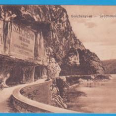 (21) CARTE POSTALA PERIOADA AUSTROUNGARA - ORSOVA - DRUMUL LUI SZECHENYI, Necirculata, Printata