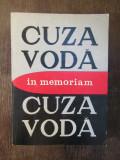 CUZA VODA, IN MEMORIAM - L. BOICU, GH.PLATON, AL. ZUB