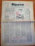 sportul 30 decembrie 1983-sarbatorirea republicii,numar de anul nou