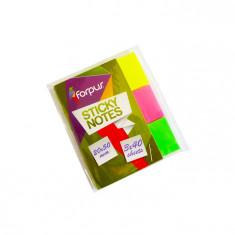 Notite tip index Forpus 42029 20x50mm 120 file 3 culori