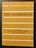 """Cumpara ieftin Osip Mandelștam - Versuri (col. """"Cele mai frumoase poezii"""")"""