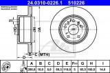 Disc frana SAAB 9-3 (YS3D) (1998 - 2003) ATE 24.0310-0226.1
