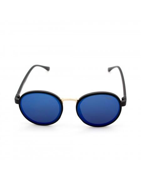 Ochelari de soare retro cu reflexii multicolore