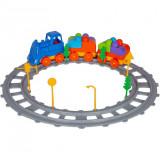 Set Tren 43 piese Magic Blocks Ucar Toys UC72Initiala