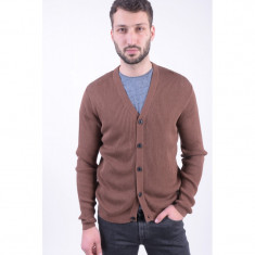 Cardigan Selected Shdnoe Grandad Cocoa Brown, M, Maro