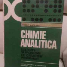 Chimie Analitica - Vasile Mageanu ,539851