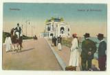 cp Constanta : Cazinoul si Bulevardul - circulata 1925, timbre