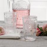 Set 3 pahare apa Bormioli Romantic 340 ml
