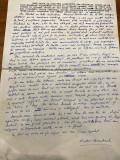 Manuscris Victor Kernbach 1 pagina