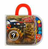 Set desen Art Book - Dinosaurs & Monster Trucks, Art Greco