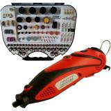 Raider - RD-MG06D - Polizor drept, 135 W, bucsa 3.2 mm, turatie reglabila, valiza plastic, accesorii