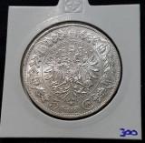 Moneda argint 5 Korona 1909 Coroane / corona Franz Josef Austria, Europa