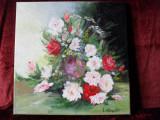 Vas cu flori 1-pictura ulei pe panza, Altul